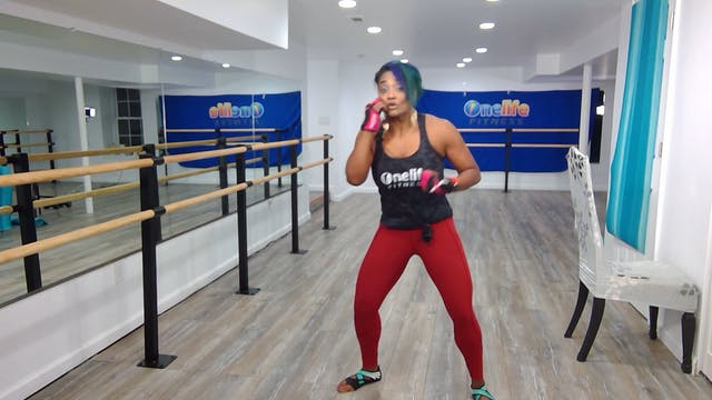 Boxing Barre with Shahana (LIVE Tuesd...