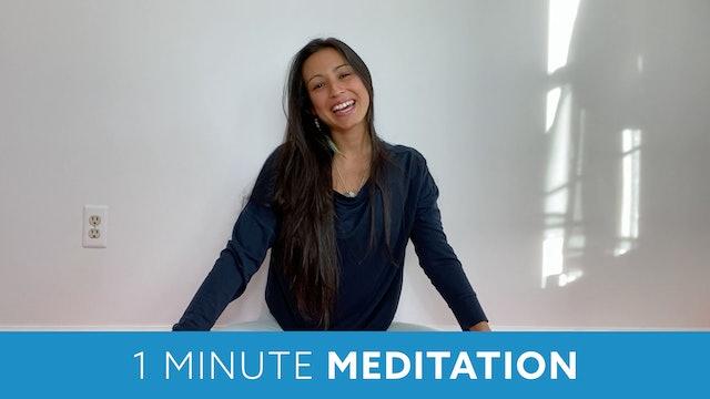 One Minute Meditation with Nina