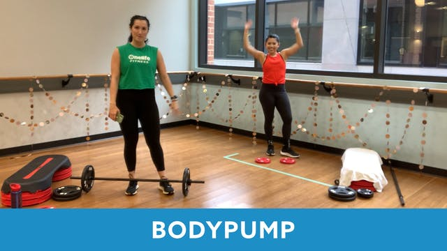 BODYPUMP with Nathalia (LIVE 12/21 @ ...