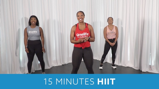 15 Minutes HIIT (High Intensity Interval Training) Workout with Sam