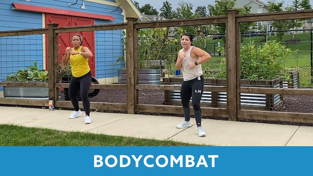 BODYCOMBAT with Mary (LIVE Monday 9/2...