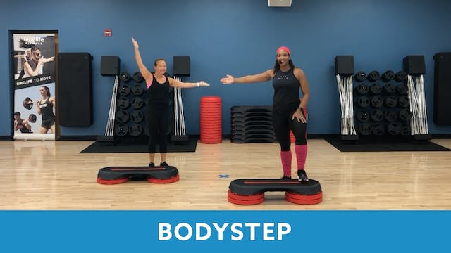 TONE UP 21 WEEK 5 - BODYSTEP with Sam