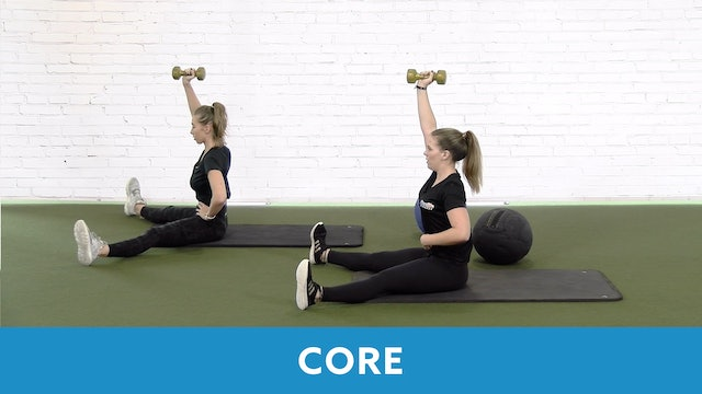 Restart Challenge -  Core with Lacey