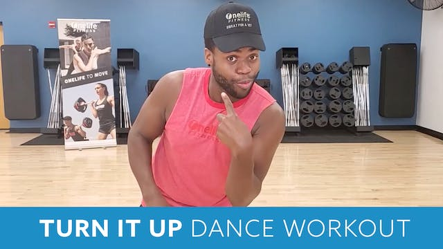Turn it Up Dance with TJ - SEPTEMBER