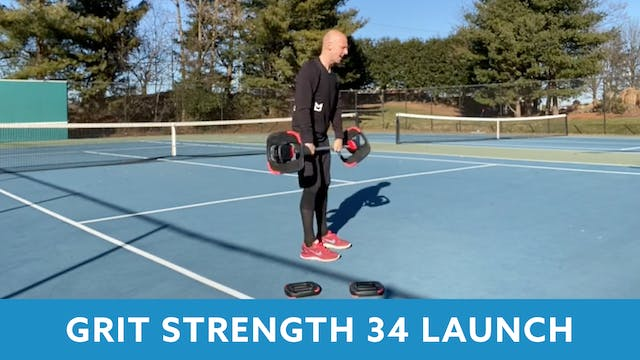 GRIT Strength 34 with Bob (LAUNCH)
