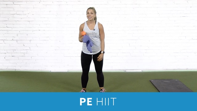 PE HIIT Workout with Caroline