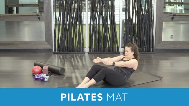 14Day Challenge Day 1 - Pilates Mat w...