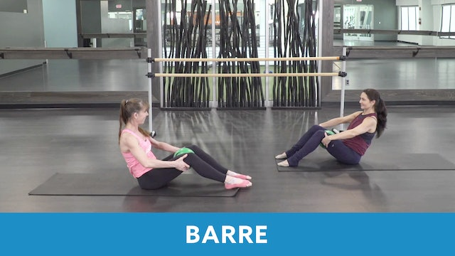 Barre #2 with Heidi and Angela