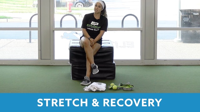 14Day Challenge Day 4 - Stretch & Recovery (Explosive Performance) with Sahar