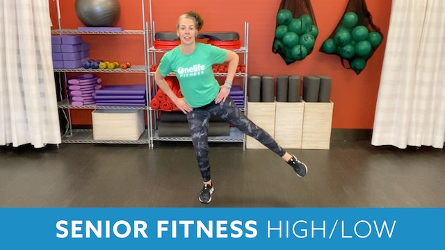 Senior Fitness Hi/Lo with Juli (LIVE Monday 5/10 @ 11am EST)