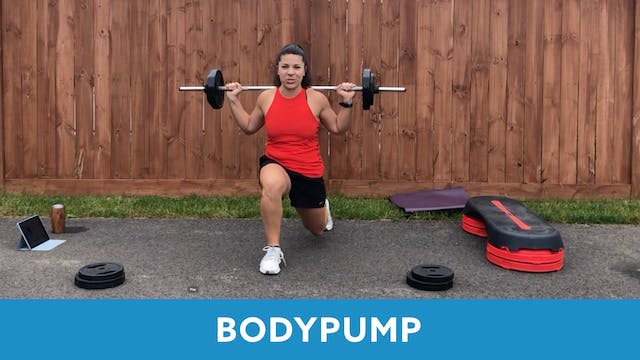 BODYPUMP with Mary (LIVE Tuesday 9/29...
