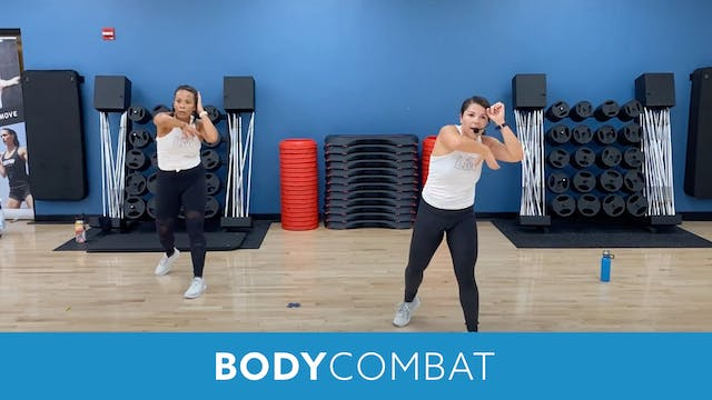 BODYCOMBAT with Mary (LIVE Monday 8/2...