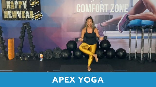 New Year's Eve APEX Yoga with JoAnne ...