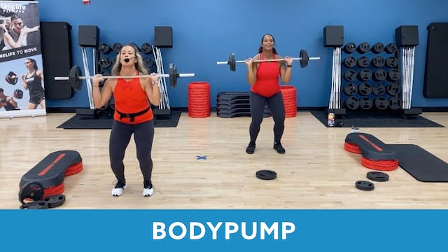 14Day Challenge Day 10 - BODYPUMP wit...