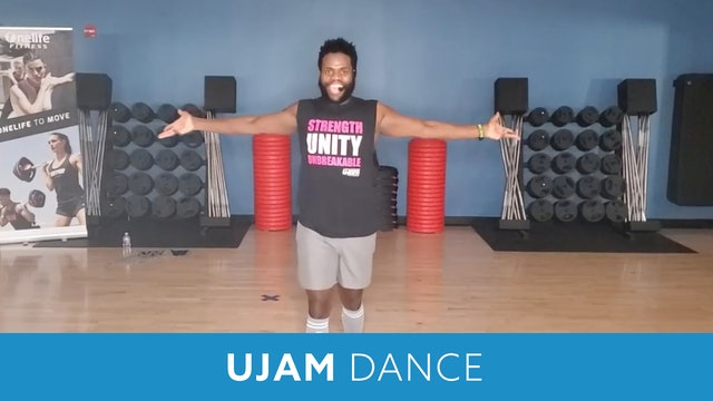 UJAM Dance #7 with TJ (LIVE Monday 10/5 @ 10:00am EST)