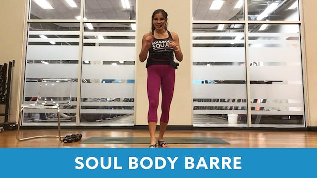 SoulBody Barre with Arlene (LIVE Mond...