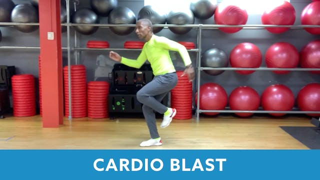 Cardio Blast with Garry (LIVE Friday ...