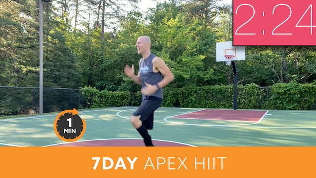 7Day Minute to Win it Challenge - APEX HIIT with Bob