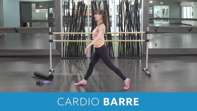 Cardio Barre with Heidi