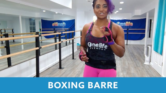 Barre Boxing with Shahana (LIVE Wedne...