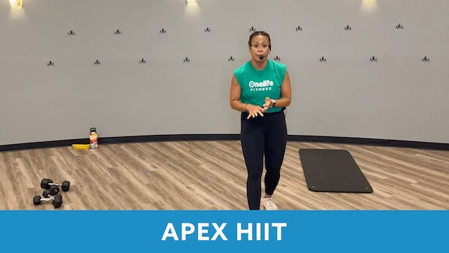 APEX HIIT with JoAnne (LIVE Wednesday...