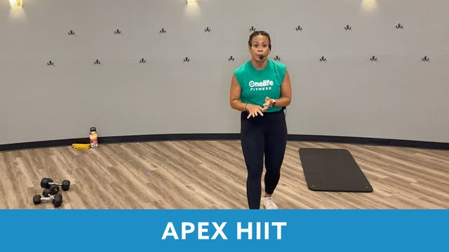 APEX HIIT #46 with JoJo