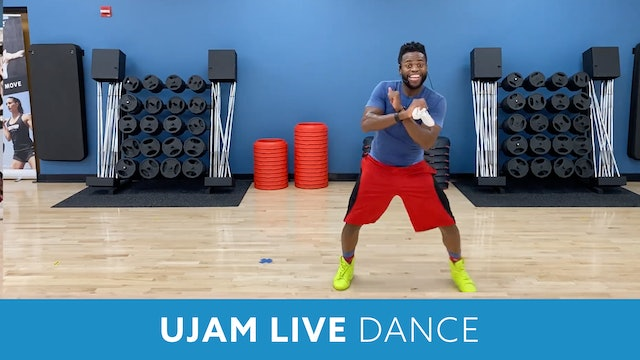 Day 4 - Advanced (Option 1) UJAM Live Dance #10 with TJ