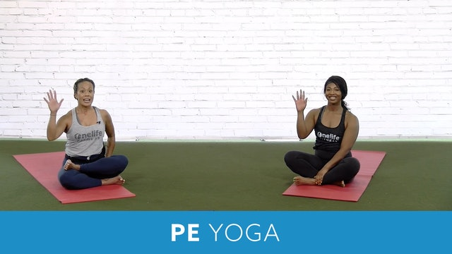 PE Yoga with JoAnne and Shay