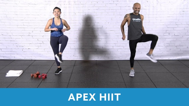 TONE UP 21 WEEK 3 - APEX HIIT (30 MIN) with Tomas and Janice