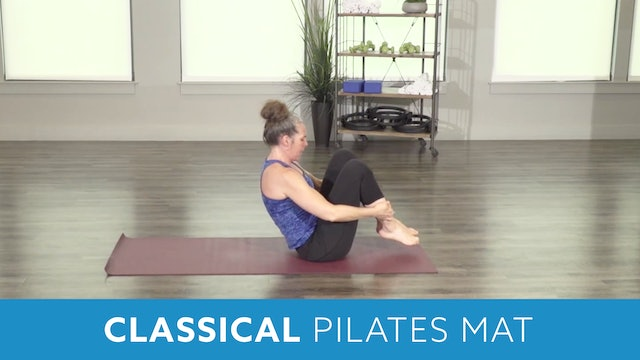 Beginner/Intermediate Classical Pilates Mat with Juli