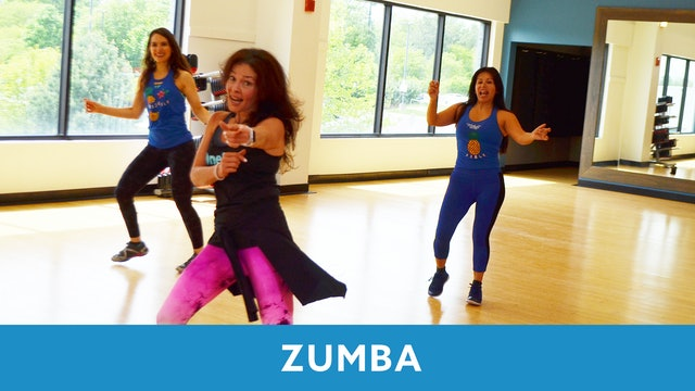 TONE UP 21 WEEK 2 - Zumba Dance with Sandra