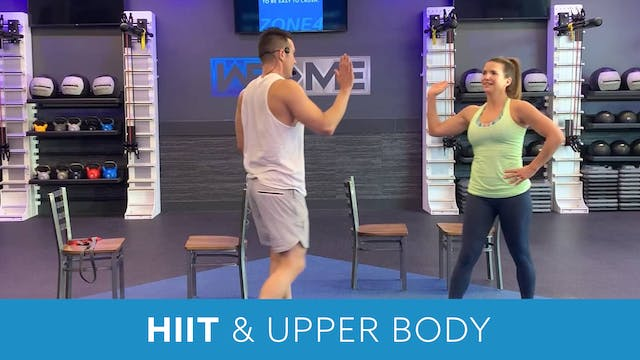 HIIT and Upper Body Training with Josh