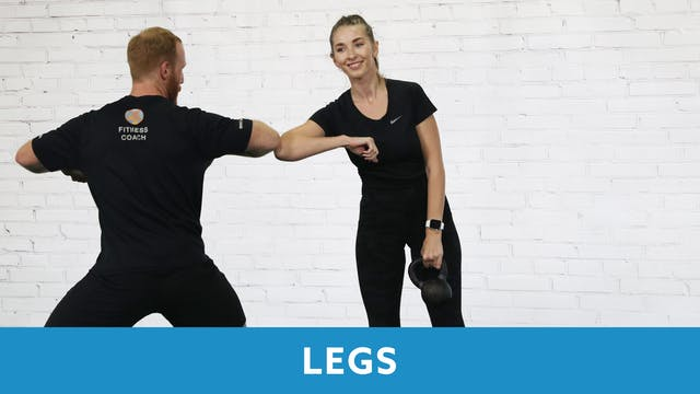 Restart Challenge - Legs with Max