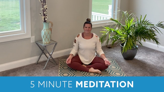 Five Minute Meditation with Erin