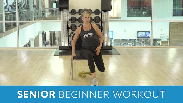 Senior Fitness Beginner Cardio, Strength, & Stretch Workout with Juli