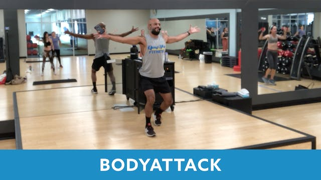 BODYATTACK with Tomas (LIVE Monday 10...