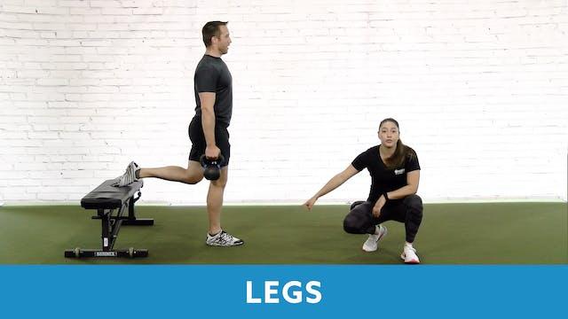 Restart Challenge - Legs with Victoria