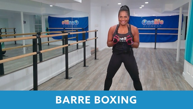 Transformation Challenge - (Week 1 Workout 4) Barre Boxing with Shahana