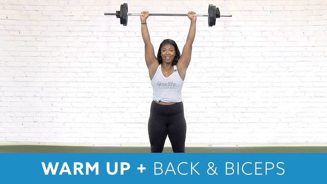 Restart Challenge - Warm up, Back & Biceps with Shay