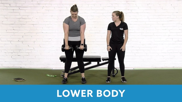 Restart Challenge - Lower Body with Lacey