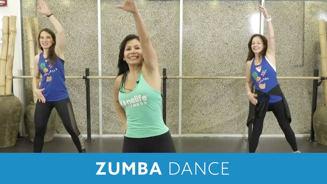 Day 4 - Beginner (Option 1) Zumba Dance with Carla