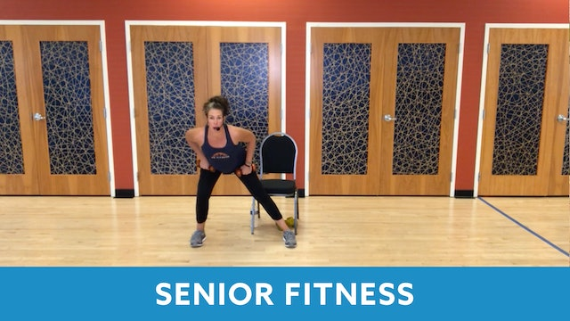 Senior Fitness Cardio & Strength with Juli (LIVE Monday 10/19 @ 11am EST)