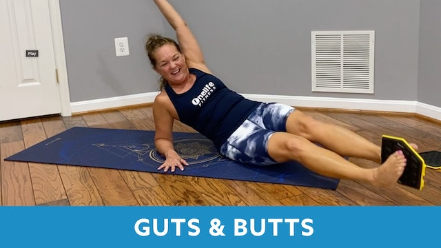 Guts N Butts with Regina - SEPTEMBER