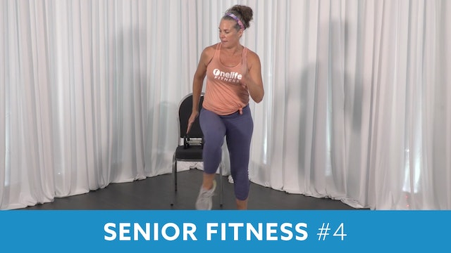 Senior Fitness Cardio & Strength with Juli (Monday 11/23 @ 11:00am EST)