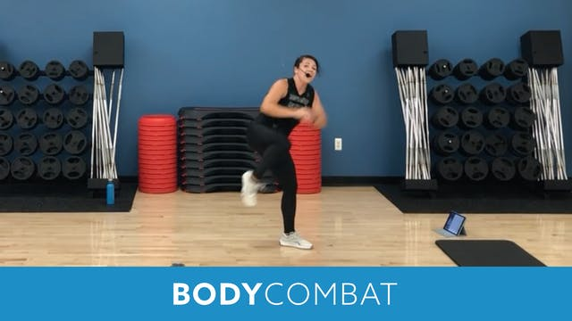 BODYCOMBAT with Mary (LIVE Friday 9/1...