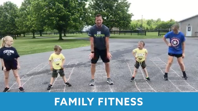 Family Fitness Ladder Workout with Kris