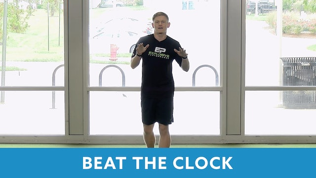 Beat the Clock (Explosive Performance) 15 Minute Workout with Sam G.