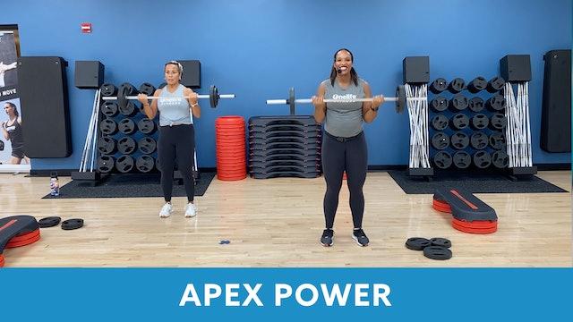 APEX POWER #12 with Sam (LIVE 9/22 @ 5:00pm EST)