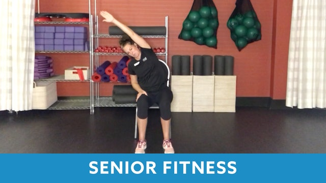 Senior Fitness Stretch & Core with Juli (LIVE Monday 2/15 @ 11am EST)