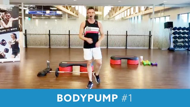BodyPump #1 with Josh